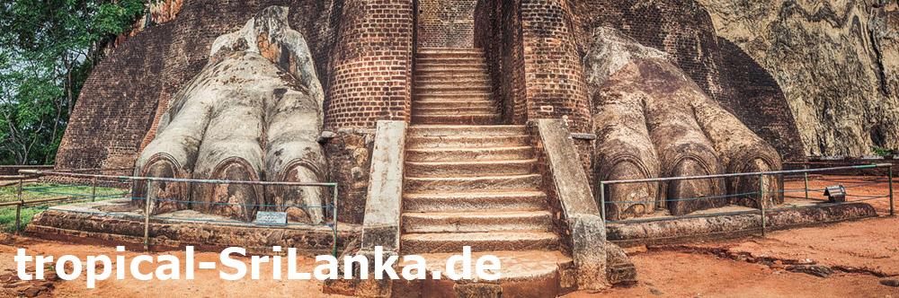 Sigiriya - Trauminsel Sri Lanka