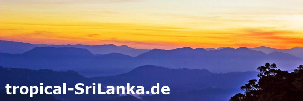 Sonnenaufgang auf dem Adam´s Peak - Trauminsel Sri Lanka