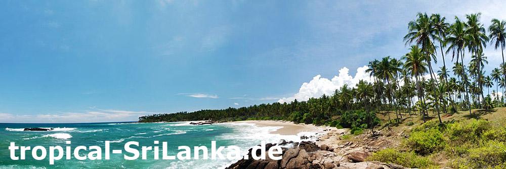 einsame Traumstrände - Trauminsel Sri Lanka