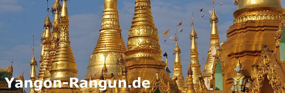 Shwedagon Pagode - Yangon-Rangun - Myanmar