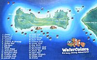 Boracay tauchen Karte