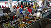 Hawker Center Kuah © tropical-travel.com