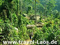 Bergdorf in Laos © Maura Reap   Dreamstime.com