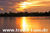 Mekong im Süden von Laos