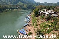 Nam Ou im Norden Laos © Josef Muellek | Dreamstime.com