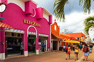 San Miguel, Cozumel © Thomas Sztanek | 123RF.com