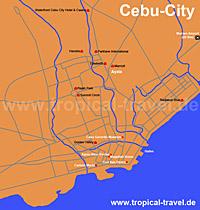 Cebu City Karte