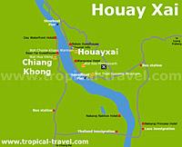 Houayxai Karte