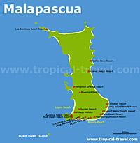 Malapascua Karte