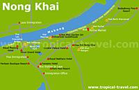Nong Khai-Karte