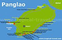 Panglao Karte