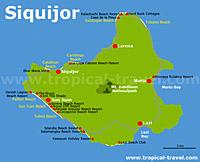 Siquijor Karte