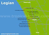 Legian Karte