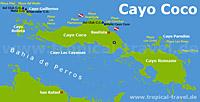 Cayo Coco Karte