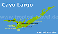 Cayo Largo Karte