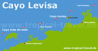 Cayo Levisa Karte