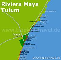 Tulum Karte