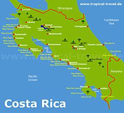 nationalparks costa rica karte Costa Rica | Anreise, Visum, beste Reisezeit | Reisetipps, Reiseinfos