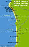 Pantai Cenang Karte