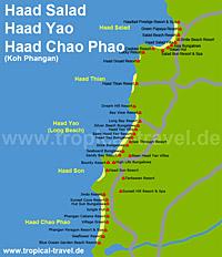Haad Chao Phao Karte
