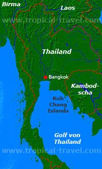 Thailandkarte