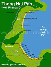 Thong Nai Pan Karte