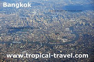 Bangkok aus der Luft