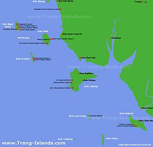 Trang Karte