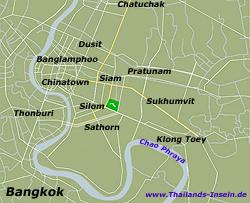 Bangkok Karte