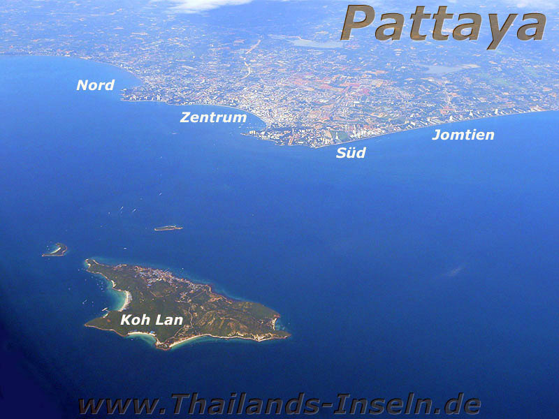 Pattaya Luftbild
