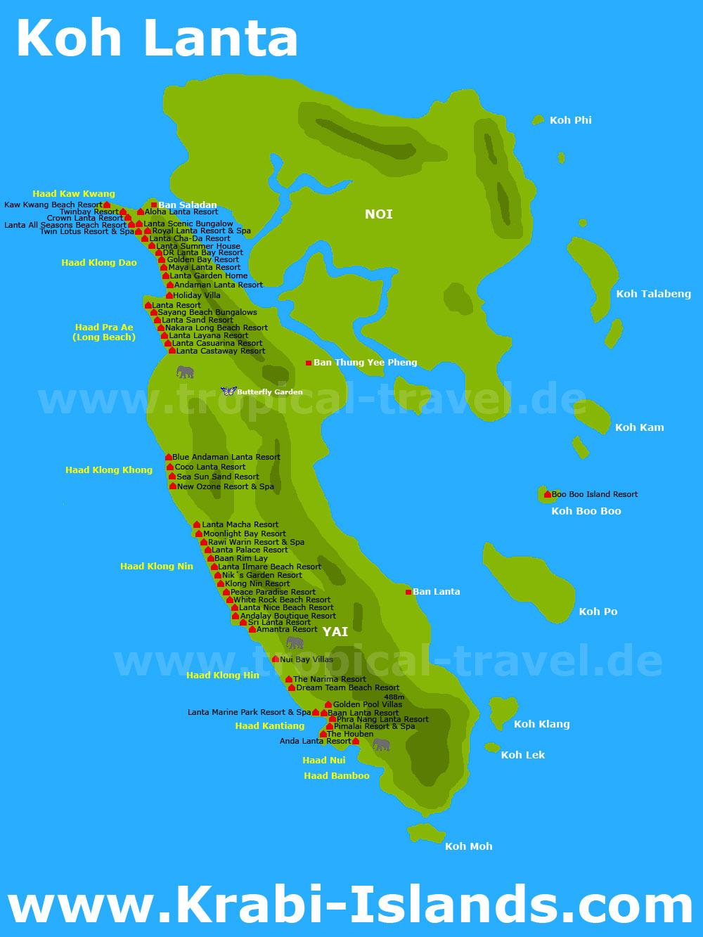 Koh Lanta Krabi Islands Com Willkommen In Der Welt Der