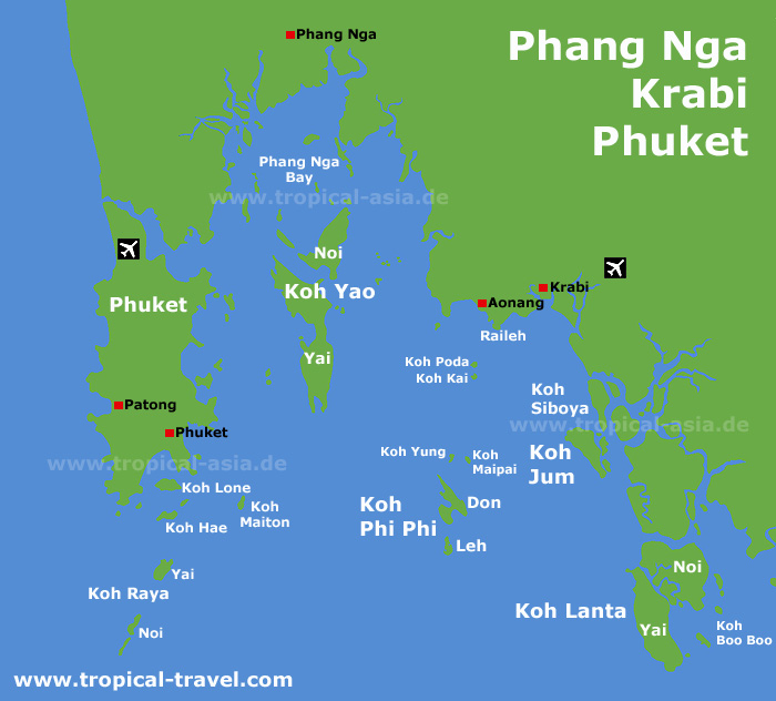 how to get to koh phayam from krabi