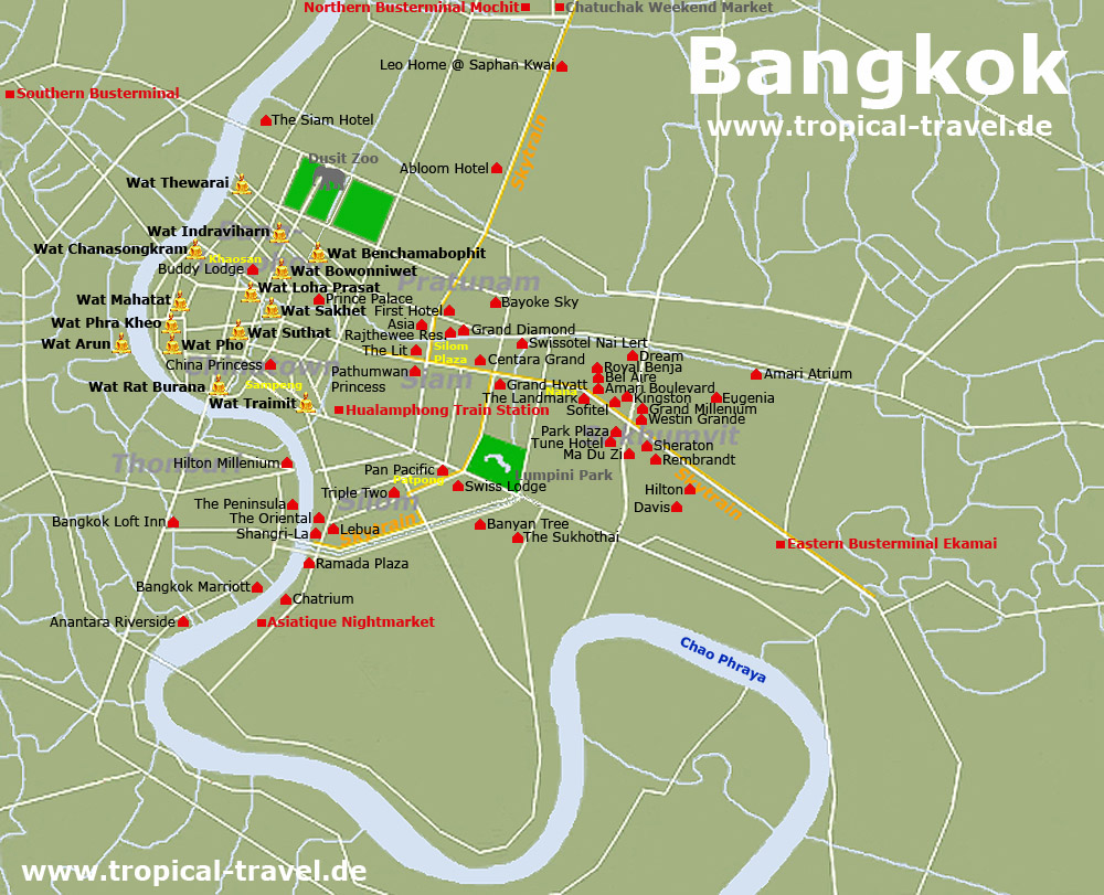 Khao San Road Bangkok Hotel
