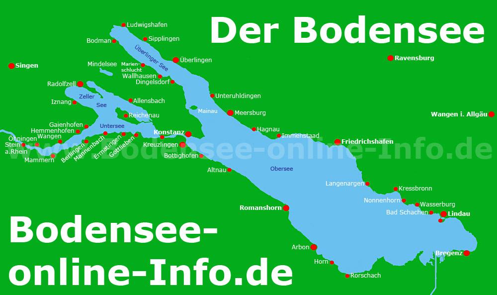 städte am bodensee karte Städte Am Bodensee Karte | goudenelftal