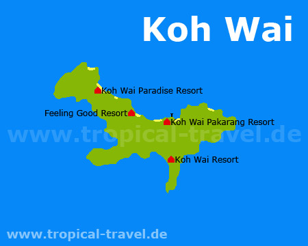 Koh Wai map