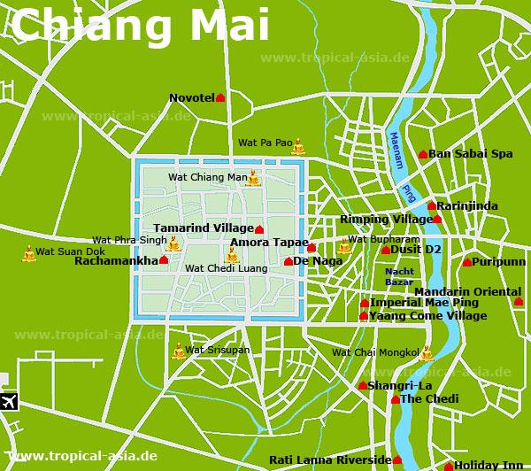 Chiang Mai Karte