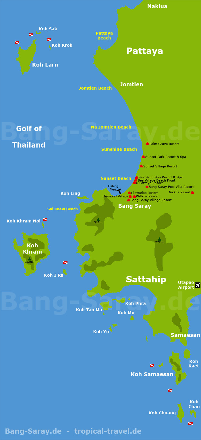 map of greater Bang Sare