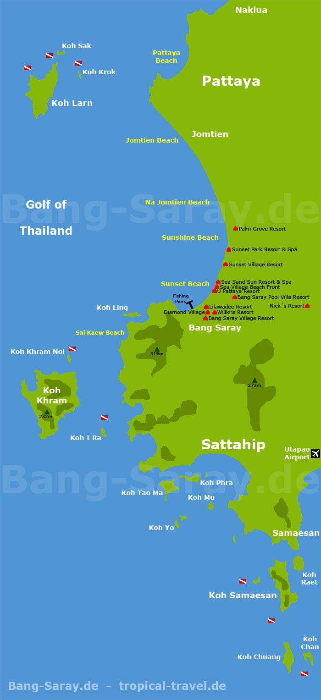 map of greater Bang Sare