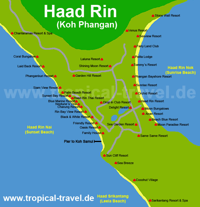 Destination hotel and island maps tropicaltravelcom