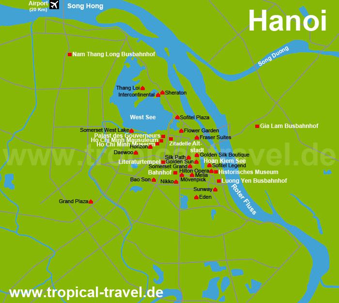 Hanoi Karte