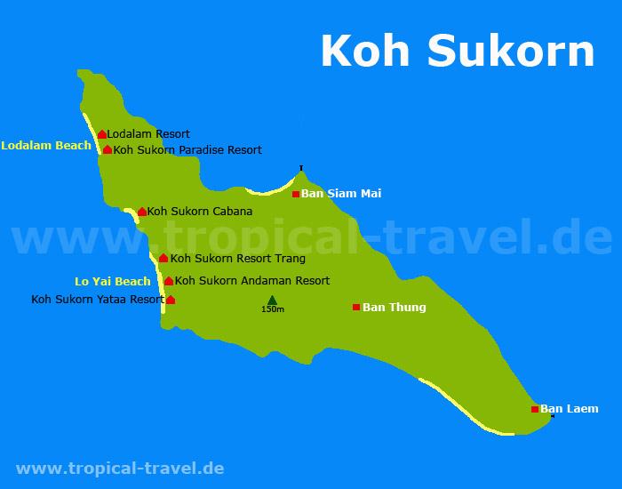 Koh Sukorn map
