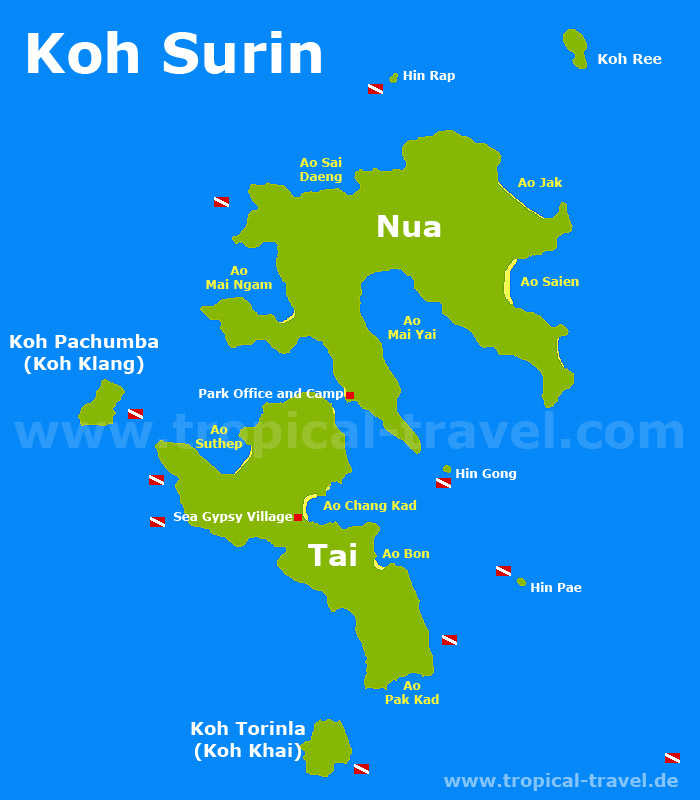 Ko Phi Phi Bungalows: Destination, Hotel And Island Maps