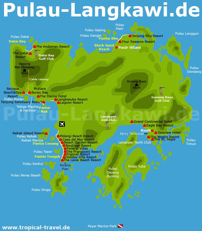 Langkawi Karte