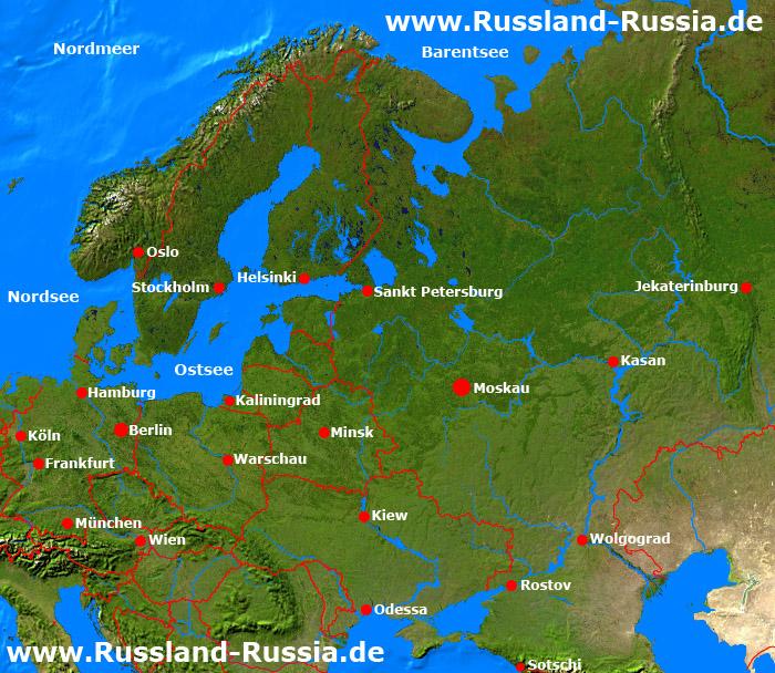 Osteuropakarte