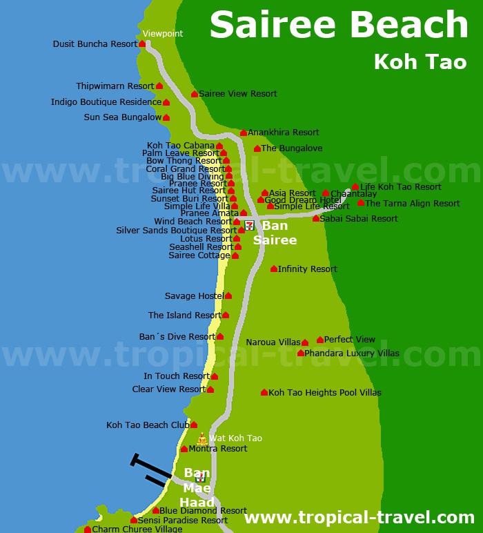 Destination hotel and island maps tropicaltravelcom