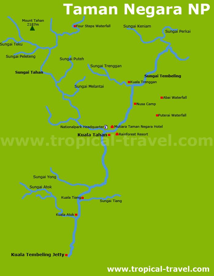 Taman Negara Karte