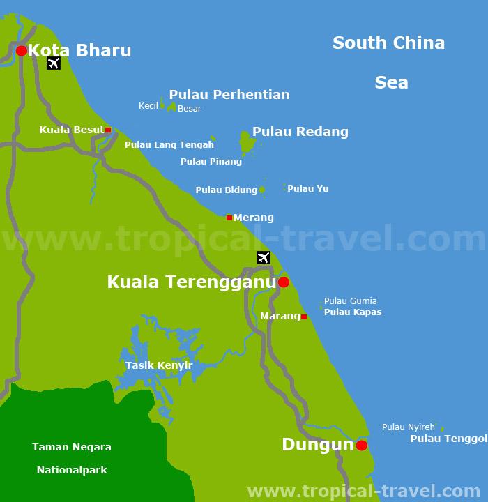 Terengganu Karte