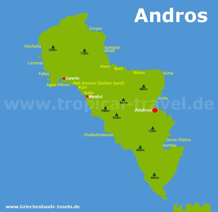 Andros Karte