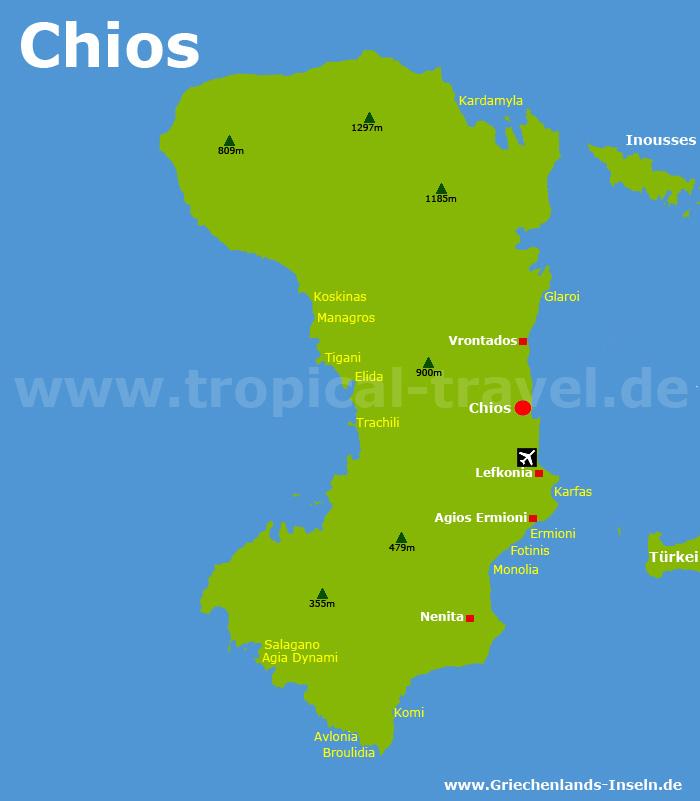 Chios Karte