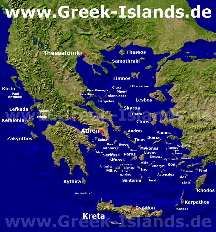 Griechenland S Inseln Reiseinfos Uber Griechische Inseln
